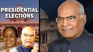 President Election Result: Ram Nath Kovind leading against Meira Kumar after first round of counting