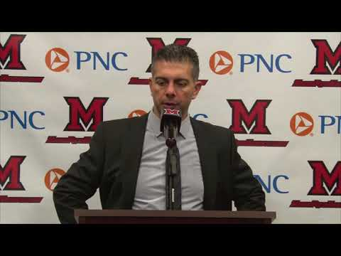 Miami Hockey - Post Game Comments - 11/17/17