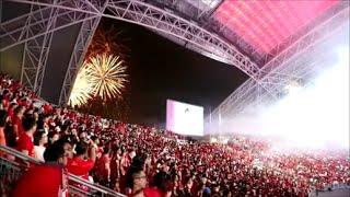 National Anthem Singapore NDP 2016 Fireworks