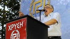 Prozess gegen Goldene Morgenröte: Parteichef Michaloliakos sagt aus