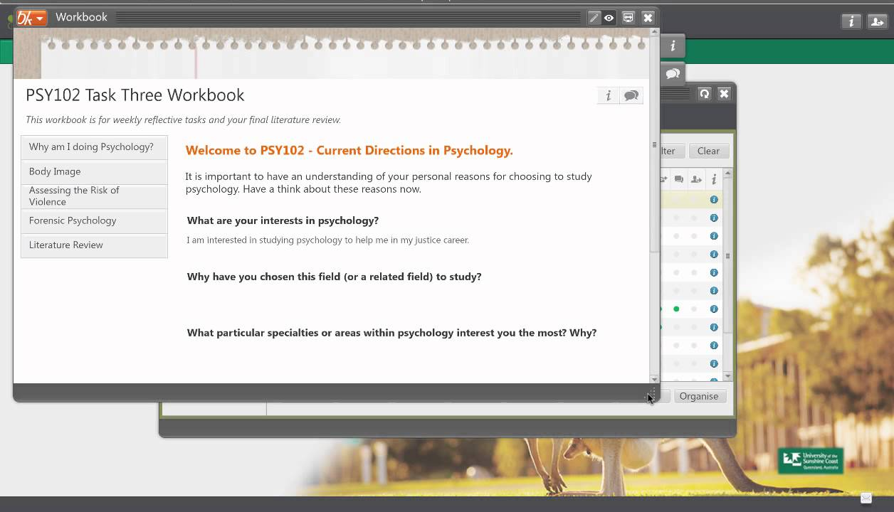 Workbooks psychology workbook : How to edit your workbook and use the PebblePad help - YouTube