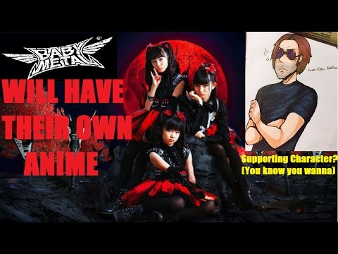 BABYMETAL Will Be Conquering the World Of Animation