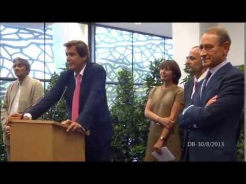 30 août 2013 - Inauguration de la Tribune Gilardi