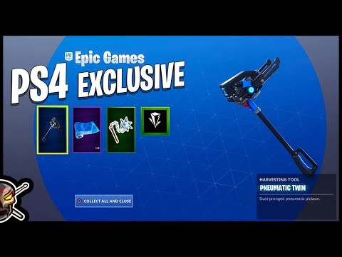 NEW PlayStation Plus Celebration Pack In Fortnite - Gameplay