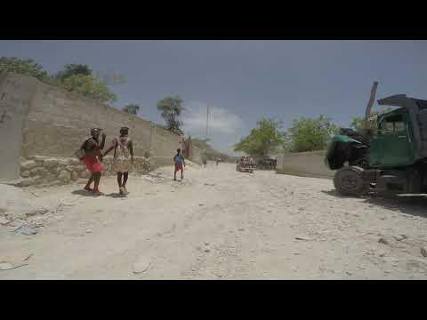 Anse-à-Galets, Gonâve Island, Haiti Truck Ride