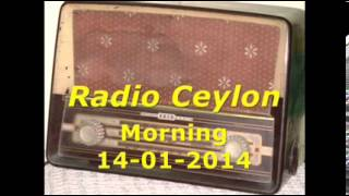 Radio Ceylon 14-01-2014~Tuesday Morning~03 & 04 - Aapki Pasand & Film Sangeet-2