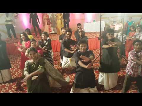 Wedding Flash Mob on Malayalam and Hindi mashups  I  Slow to fast to crazy moves  I