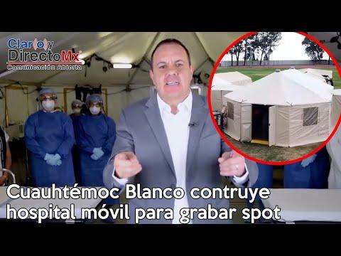 """Gobierno De Morelos Arma Hospital, Para Un Spot Del """"Cuauh"""""""
