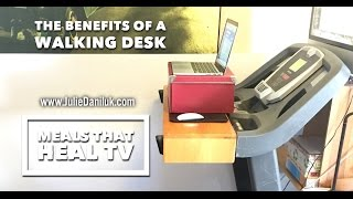 The Benefits Of A Walking Desk