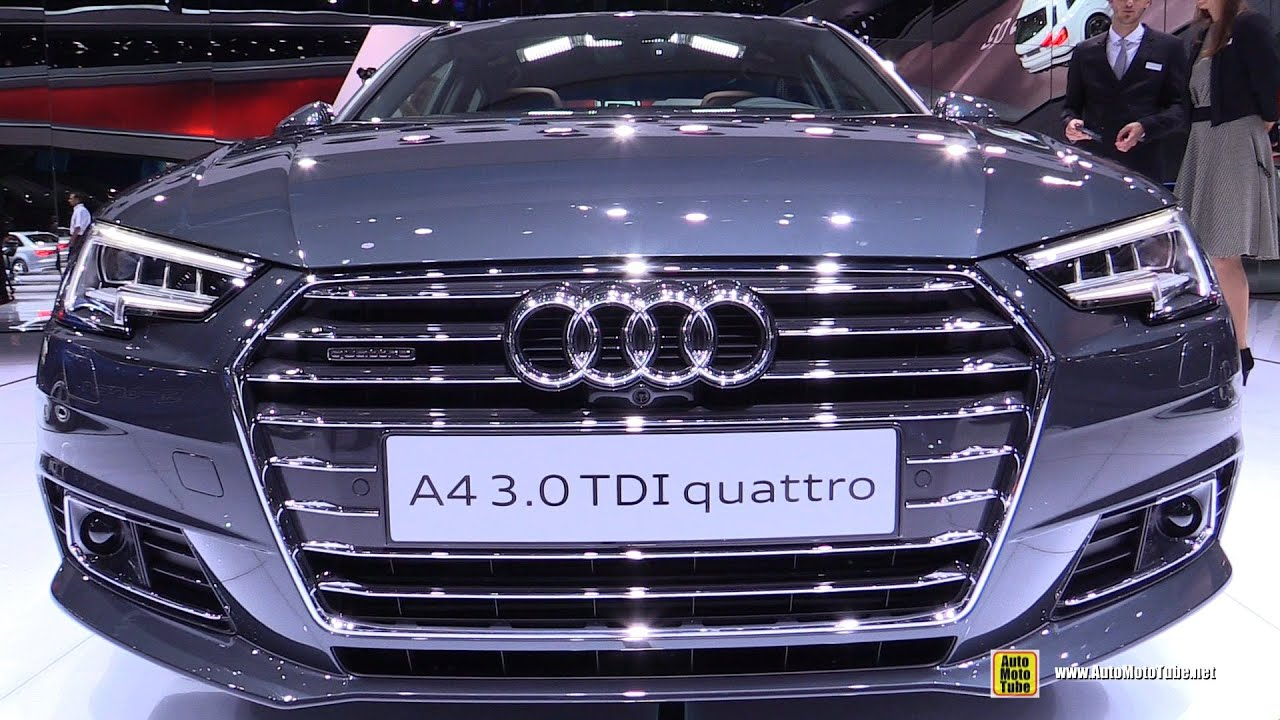 2016 audi a4 3 0 tdi quattro exterior and interior. Black Bedroom Furniture Sets. Home Design Ideas