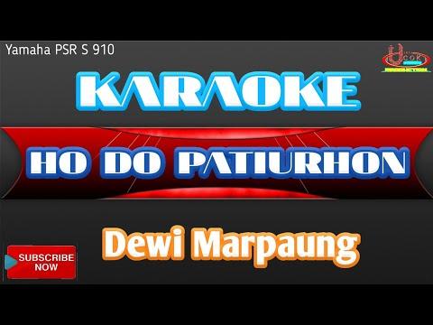 Karaoke HO DO PATIURHON - Novita Dewi Marpaung