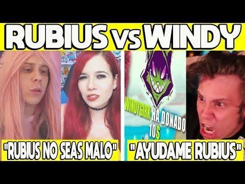 5 VECES QUE WINDY SE HUMILLO POR RUBIUS | WINDY LE DONA A RUBIUS, RUBIUS NO SEAS MALO Y MAS!