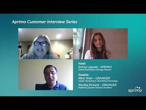 Aprimo Customer Interview Series - Grainger