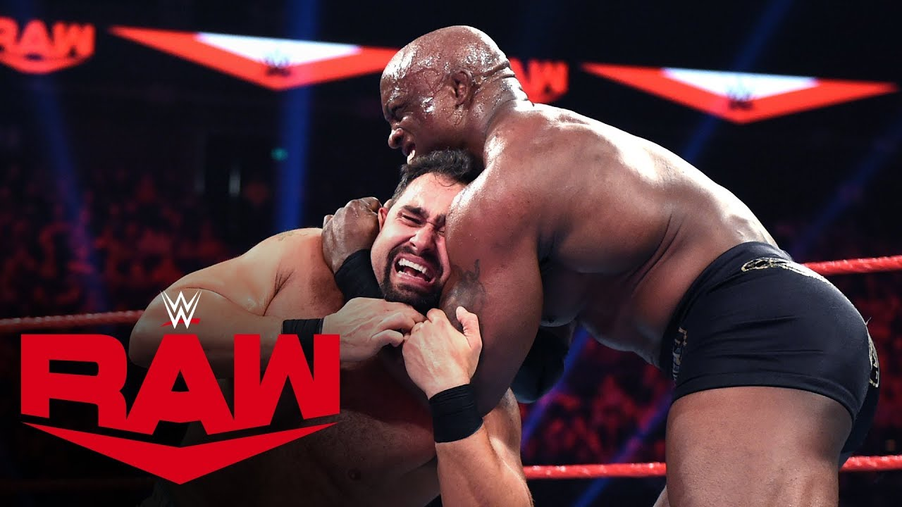 Rusev vs. Bobby Lashley: Raw, Jan. 13, 2020
