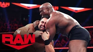 Rusev vs. Bobby Lashley: Raw, Jan. 13, 2020
