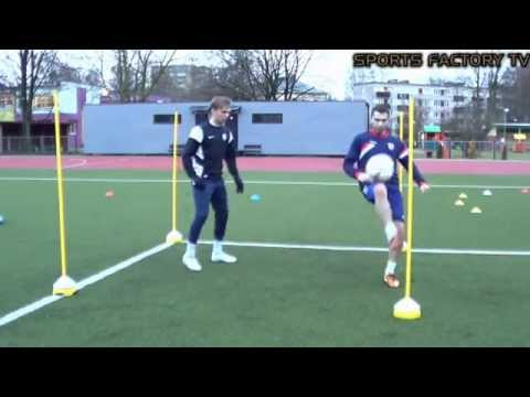 Sports Factory •  Individual Football training • Agility, Coordination, Ball control, Heading (HD)