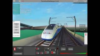 Roblox Terminal Railways Episode 2 : TGV Madness!