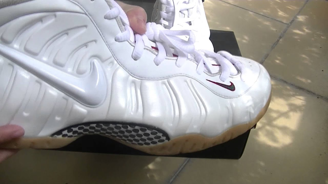 Authentic Nike Air Foamposite Pro Gucci Pro White Gym Red Gorge Green Gum.  Cool ! 16175f499