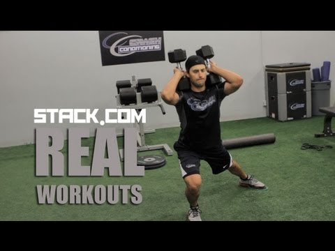Real Workout: NHL's Jordan Eberle