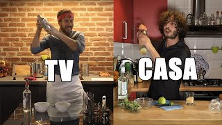 CUCINA in TV vs CUCINA a CASA [APERITIVO EDITION]
