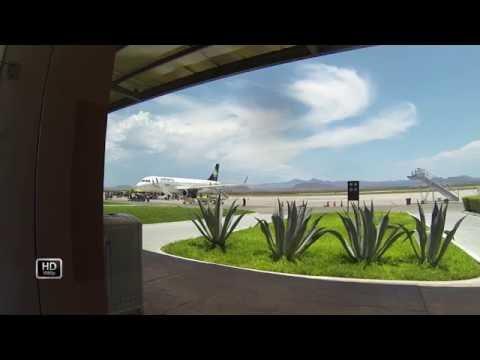 VOI 680 La Paz   Guadalajara A320 Full flight vuelo completo pax view