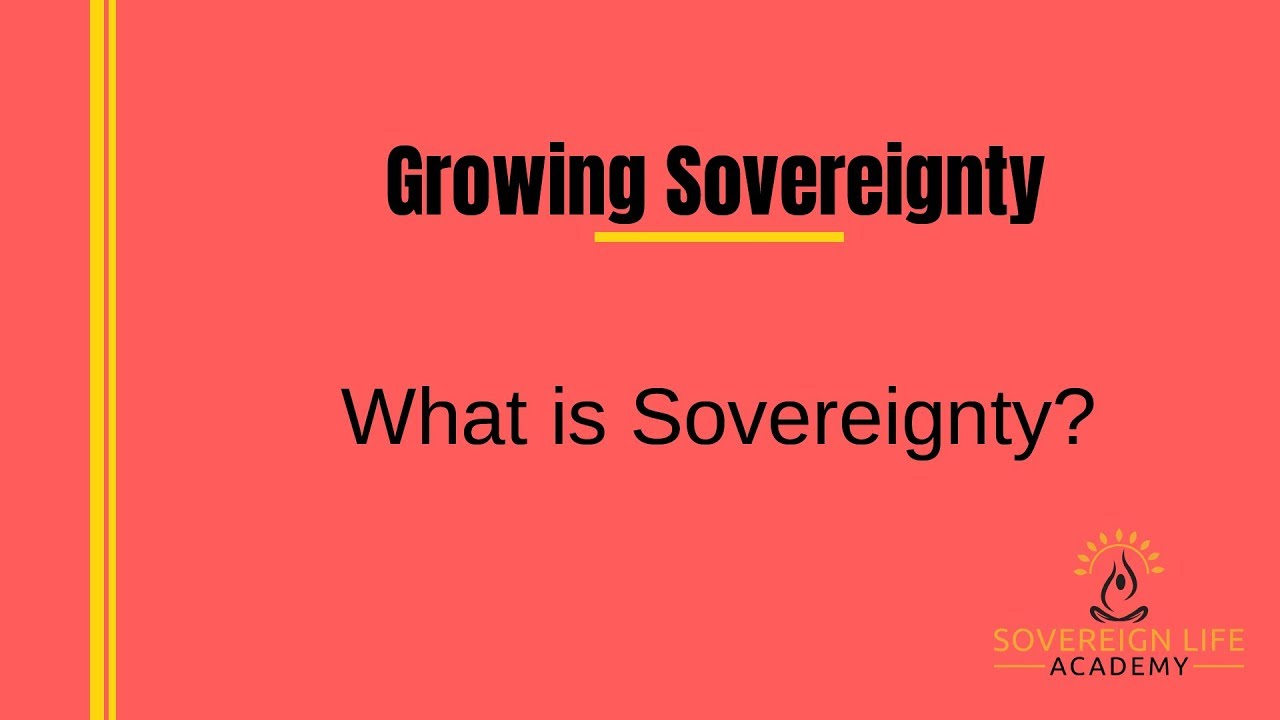 What is sovereignty 25