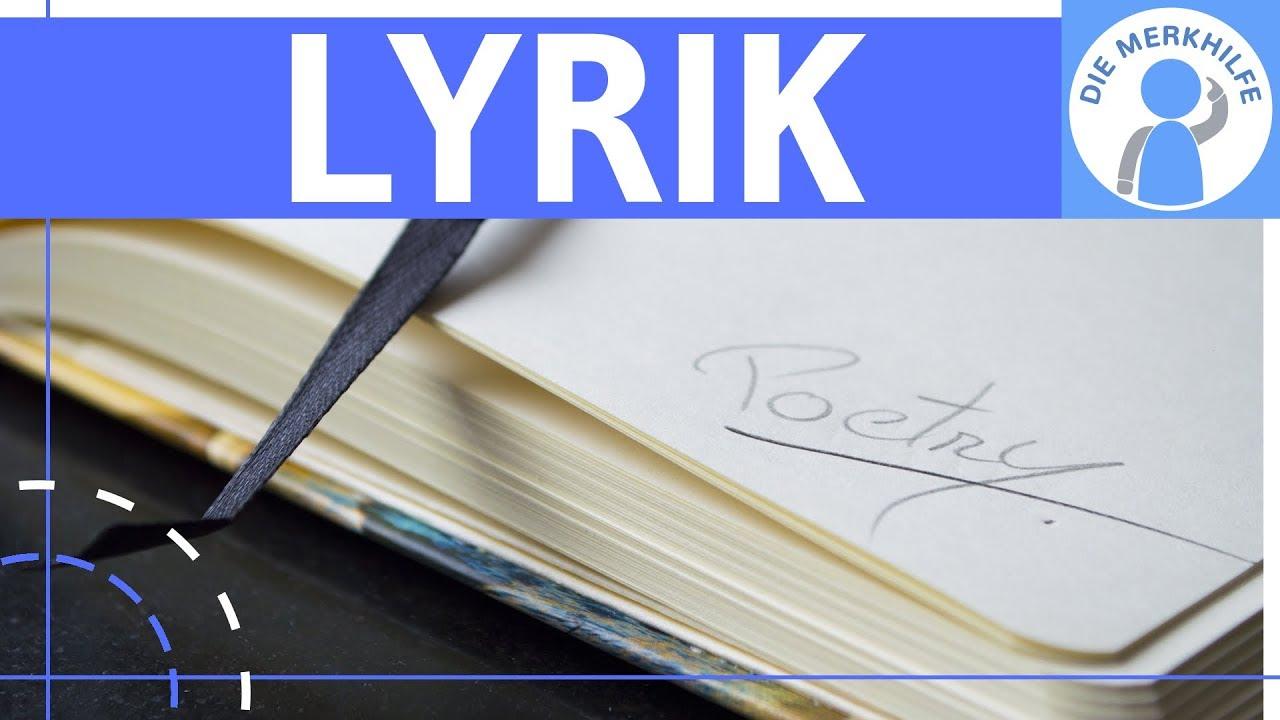 Lyrik - Ballade & Sonett - Unterschied & Merkmale einfach ...