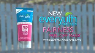 Everyuth Naturals - Fairness Peel Off Mask - 20Sec Hindi Thumbnail
