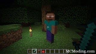 Обзор мода для Minecraft - Herobrine Mod [В поисках Херобрина]
