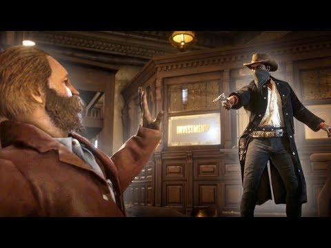 ROBBING A BANK! | Red Dead Redemption 2 Outlaw Life #10