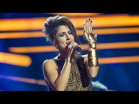 Eurovisión 2016. Segundo ensayo de Barei en el Globe Arena