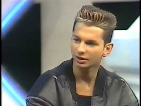 Depeche Mode Interview Dave and Fletch 1984