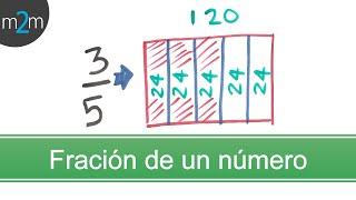 Ejercicios para obtener la fracción de una cantidad