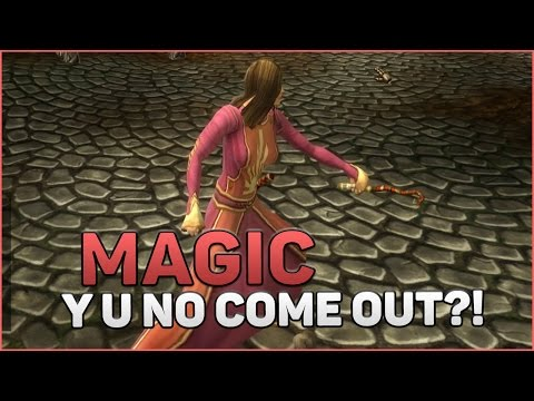 Alganon Gameplay | Magic Doesn't Work In Duels?!