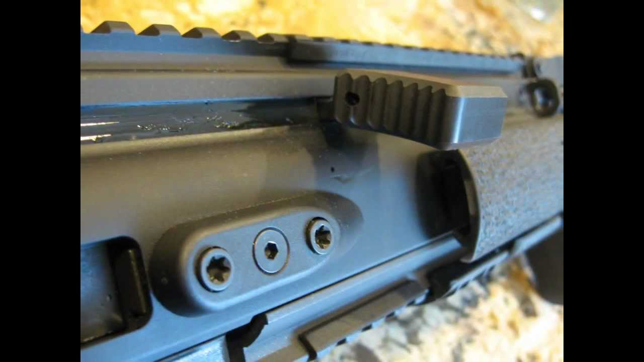 Stryker Enterprises EACH Enhanced Angled Charging Handle for SCAR