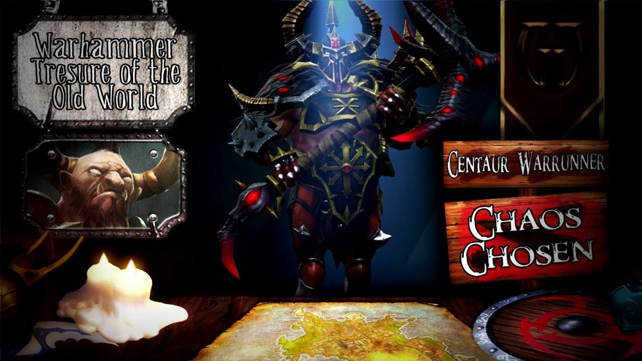 chaos chosen centaur warrunner warhammer treasure of the old
