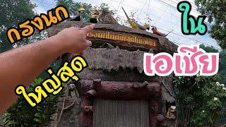 กรงนกยักษ์ ที่ใหญ่ที่สุด ในเอเซีย