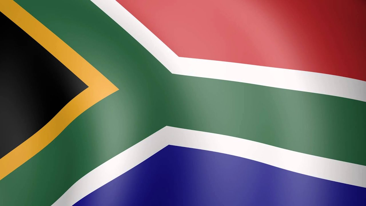 Animated Flag of South Africa - YouTube