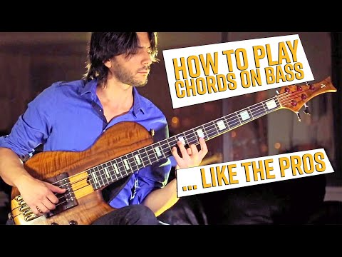 How to Play Chords on Bass (like the Pro's do it)