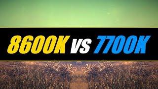 i5-8600K vs. i7-7700K | GTX 1080 (Test in 5 Games)