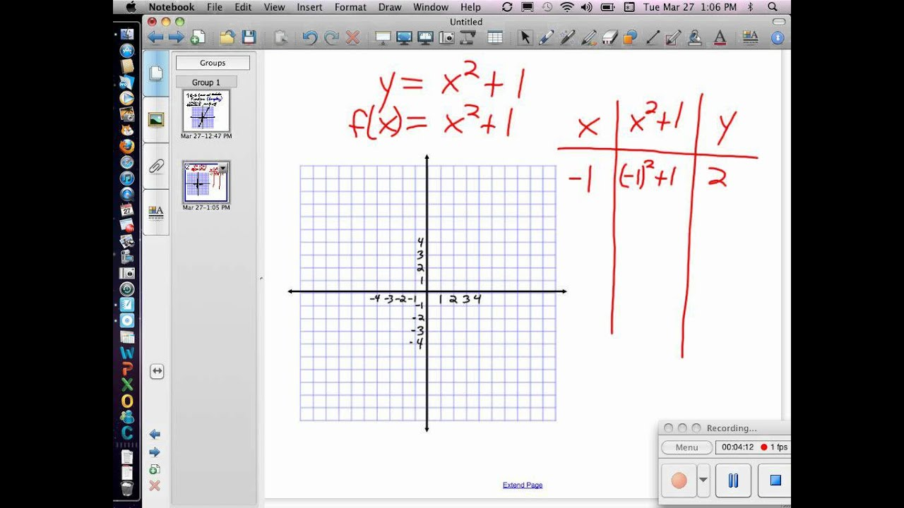 8 8 Linear And Quadratic Functions Part 1 V