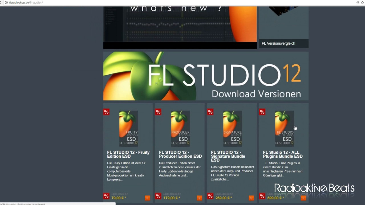 Fl Studio Welche Version kaufen EDU Fruity Producer Signature Bundle  Edition Lifetime free Update