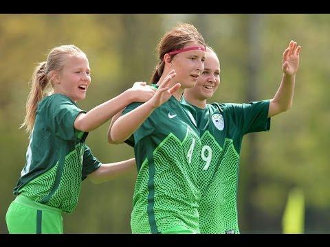 WU17 turnir narodov: Slovenija - Anglija