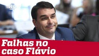 Promotoria comete falhas na quebra de sigilo de Flávio Bolsonaro