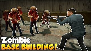 One of SpyCakes's most viewed videos: BASE BUILDING AGAINST ZOMBIES! - Garry's Mod Gameplay - Gmod Sandbox Zombie Survival