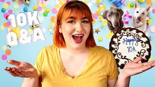 Pets I Would Never Get, Pet Foods I Would NEVER Feed, and Spilling Tea   Yay For 10K Q&A