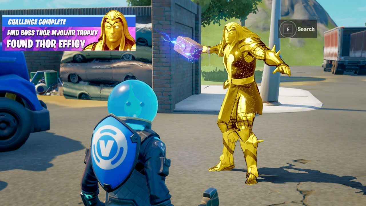 Fortnite Boss Thor Secret Reward