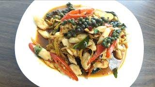 Тайская Кухня. Курица c Диким Имбирём
