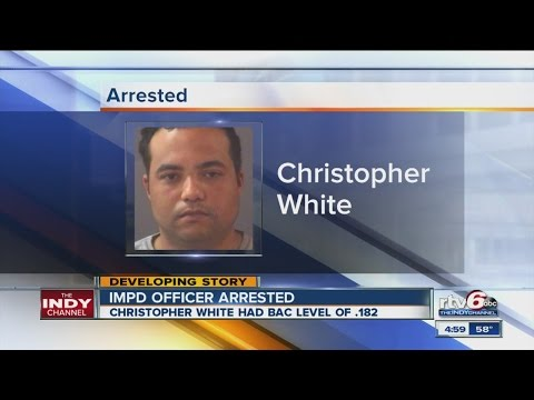 IMPD detective arrested on DUI charges in Hamilton County