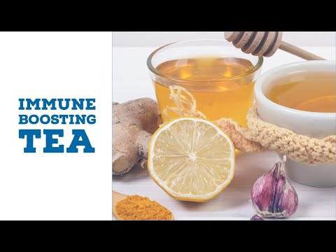 This Tea Will Boost Your Immune System and Fight Off Infections & Viruses
